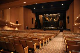 Auditorium in the Stranahan Theater