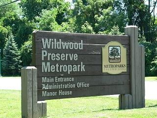 Wildwood Metropark Main Entrance