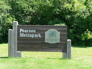 Pearson Metropark Sign