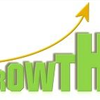 green growth with arrow