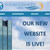 photo of lucas county website homepage with our new web site is live