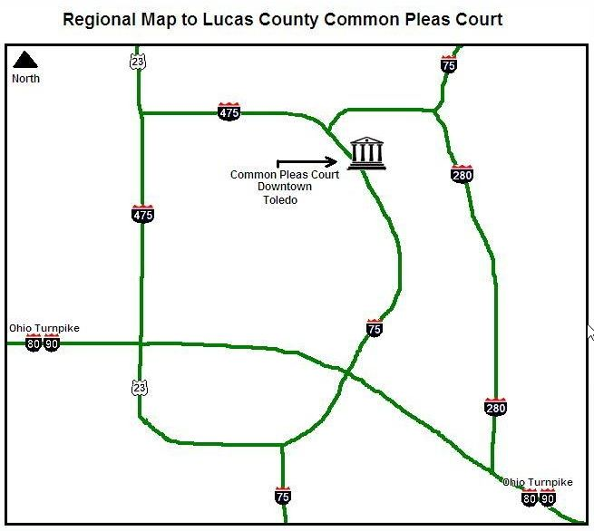 Regional Map Lucas County Oh Official Website