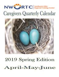 Pages from Spring 2019 Caregiver Calendar