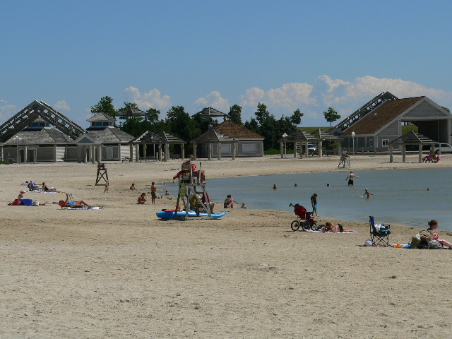 Maumee Bay State Park - Beach Scene